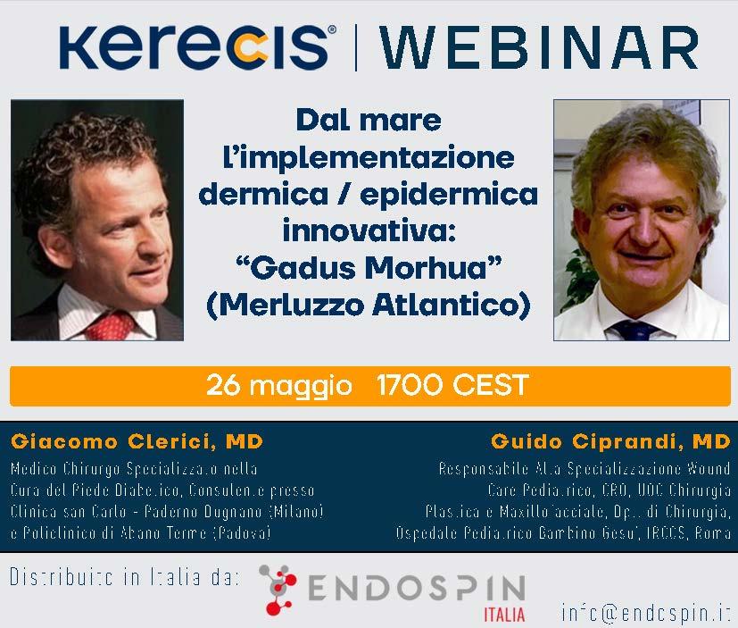 2021.05.05 Endospin webinar flyer kerecis